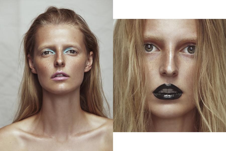 (L) Makeup Forever 12 Flash Colour  #00 turquoise  CoverGirl Jumbo Gloss Balm Creams 285 parfait   (R) Makeup Forever 12 Flash Colour Case 12 Flash Colour Case #11 black & M.A.C Lip Glass