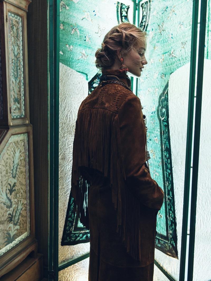 Rosie Huntington-Whiteley by Sebastian Kim- Vogue Korea