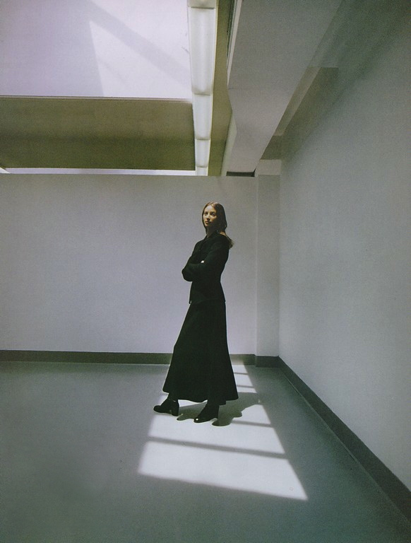 Christy Burlington by Patrick Demarchelier | Harper's Bazaar