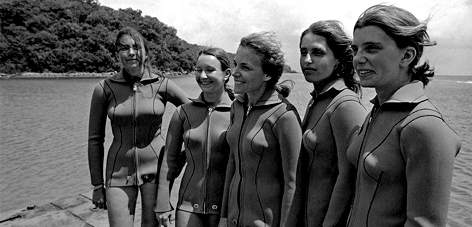 six pioneers of ocean exploration who happen to be women parley