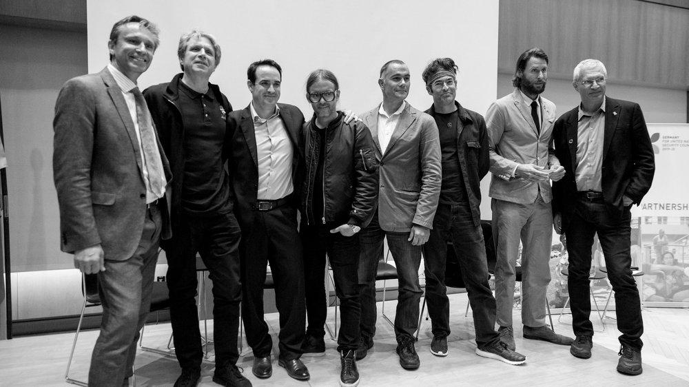 Dominic Hogg,Scott Bolton,Mark Anthony Browne, Cyrill Gutsch, Marcus Eriksen, Chris Jordan, David DeRothschild, Louie Psihoyos