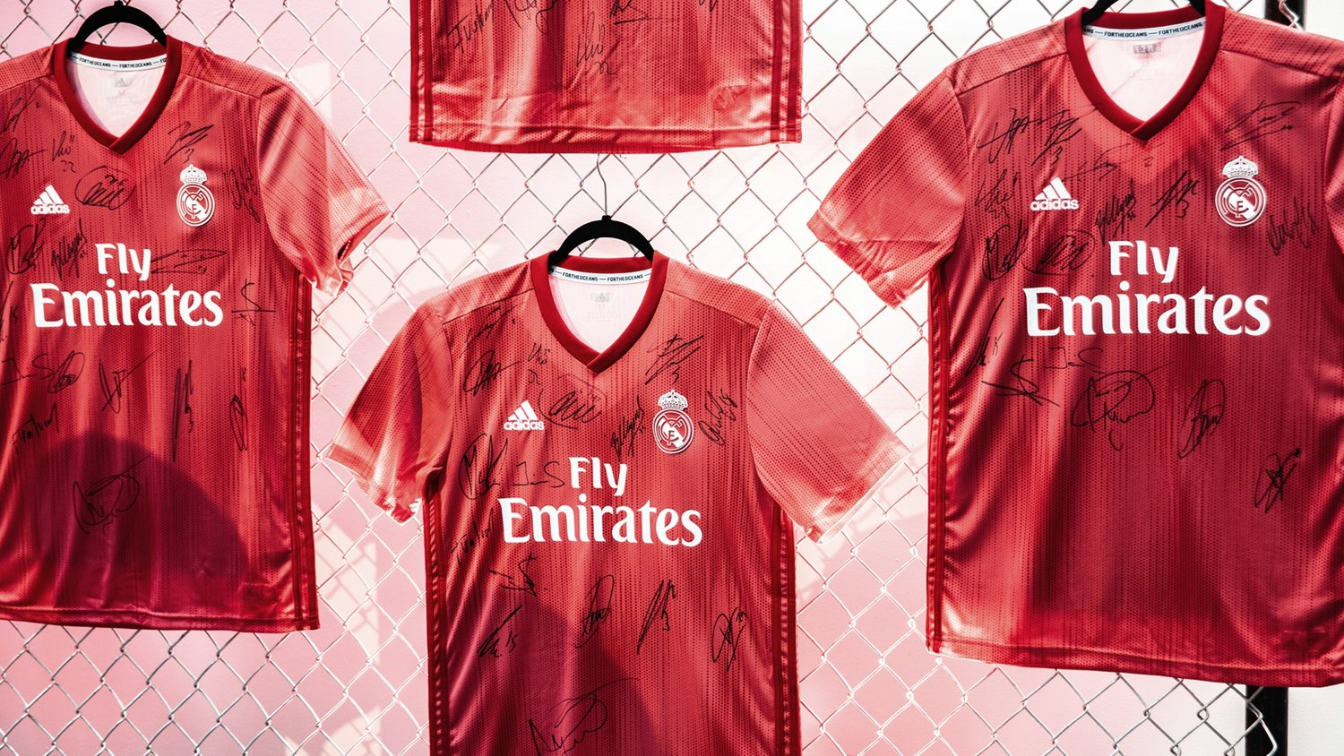 official photos bb344 f3a2c From Threat to Thread: Real Madrid Third Kit Launch — PARLEY