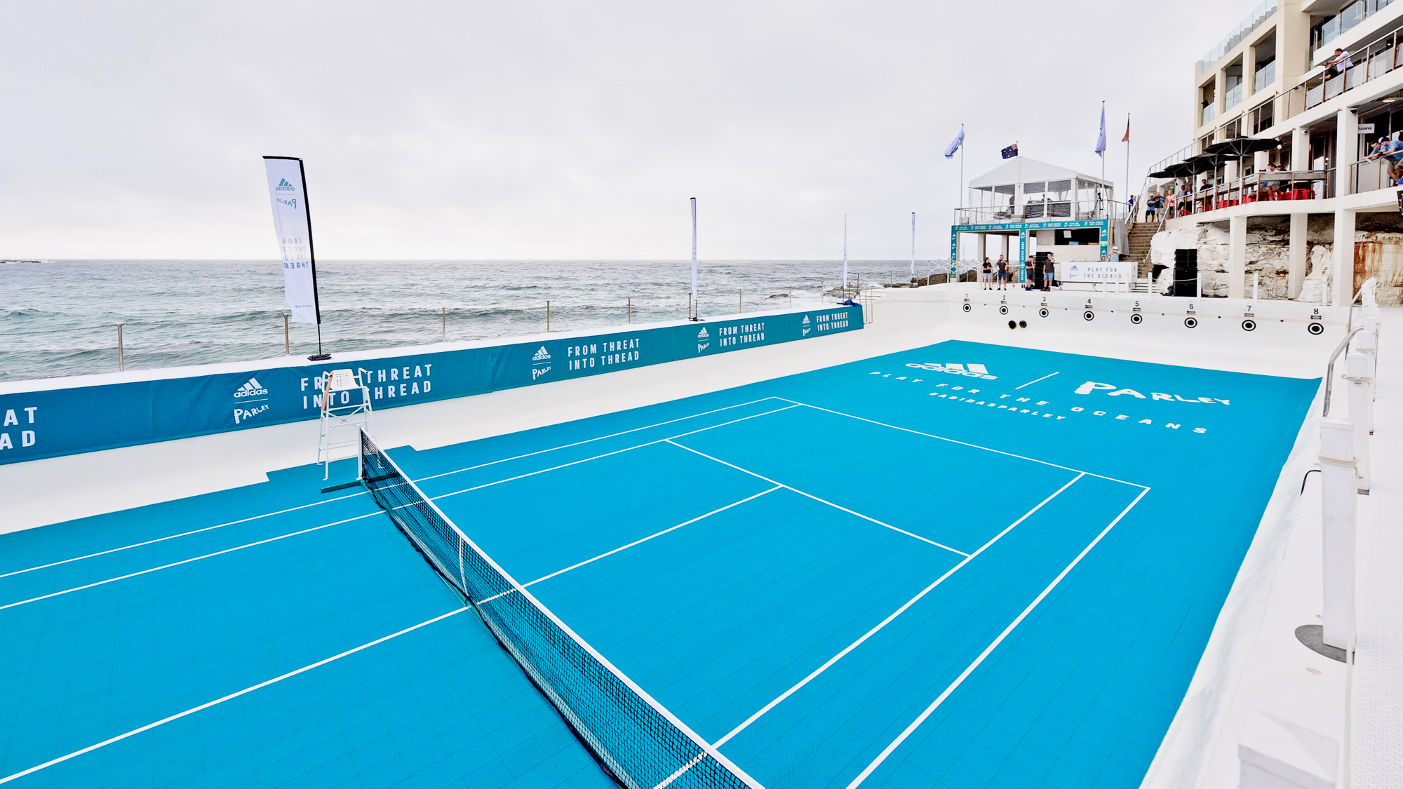 adidas Tennis x Parley: Play for the