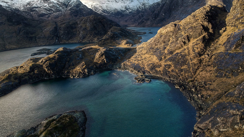 Loch Coruisk, a hidden sea Loch on the Isle of Skye. Photo by Keith Bremner.