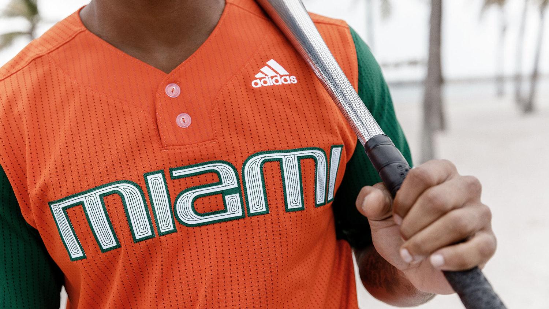 f3fe8e2db1eec adidas x Parley  Miami Hurricanes Bring the Movement to the Baseball Diamond