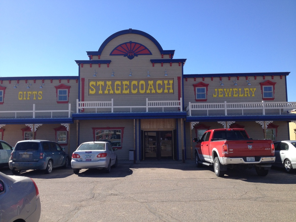 Time to stop and get out of the car. After seeing signs along I-80 for the Stagecoach Gift Shop, I decided this was a good place to go! And boy, am I glad I did....there were some real gems in there!