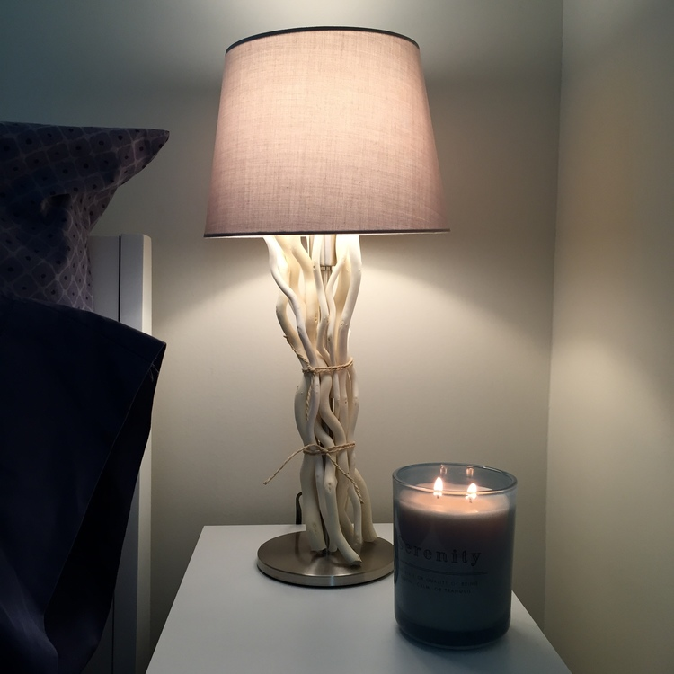 We just moved into a new place and after giving up all of my lamps in the  move from Minneapolis to LA (who has moving room for lampshades?)