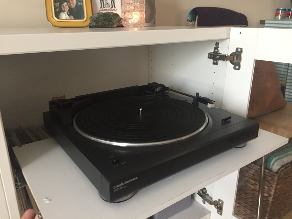 IKEA BESTA Record and Media Console Hack — Stephanie Mae Foster