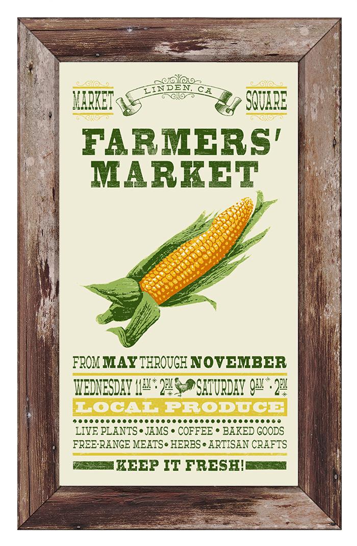 Farmers Market Poster FRAMED2.jpg