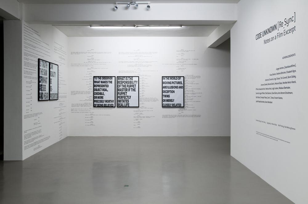 Installation View: Weserburg - Museum für Moderne Kunst, 2010