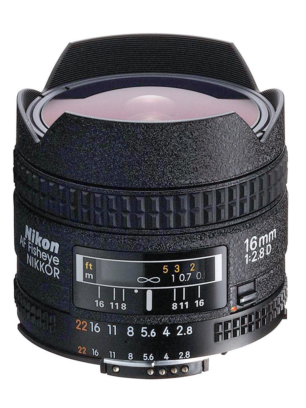 Nikon AF NIKKOR 16mm f2.8D Fisheye
