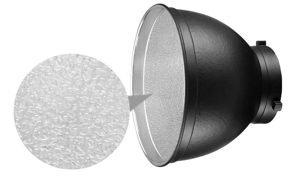 "JINBEI Photographic Equipments 7.9"" / 20cm Standard Reflector 55 for Bowens Mount"