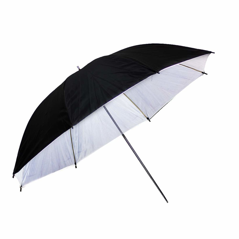 "LimoStudio Photography Video 40"" Double Layered Black & White Photo Studio Reflective Umbrella"