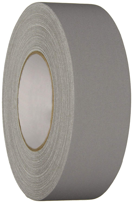 Polyken Vinyl Coated Cloth Premium Gaffer's Tape, 11.5 mil Thick, 50m Length, 48mm Width, Gray