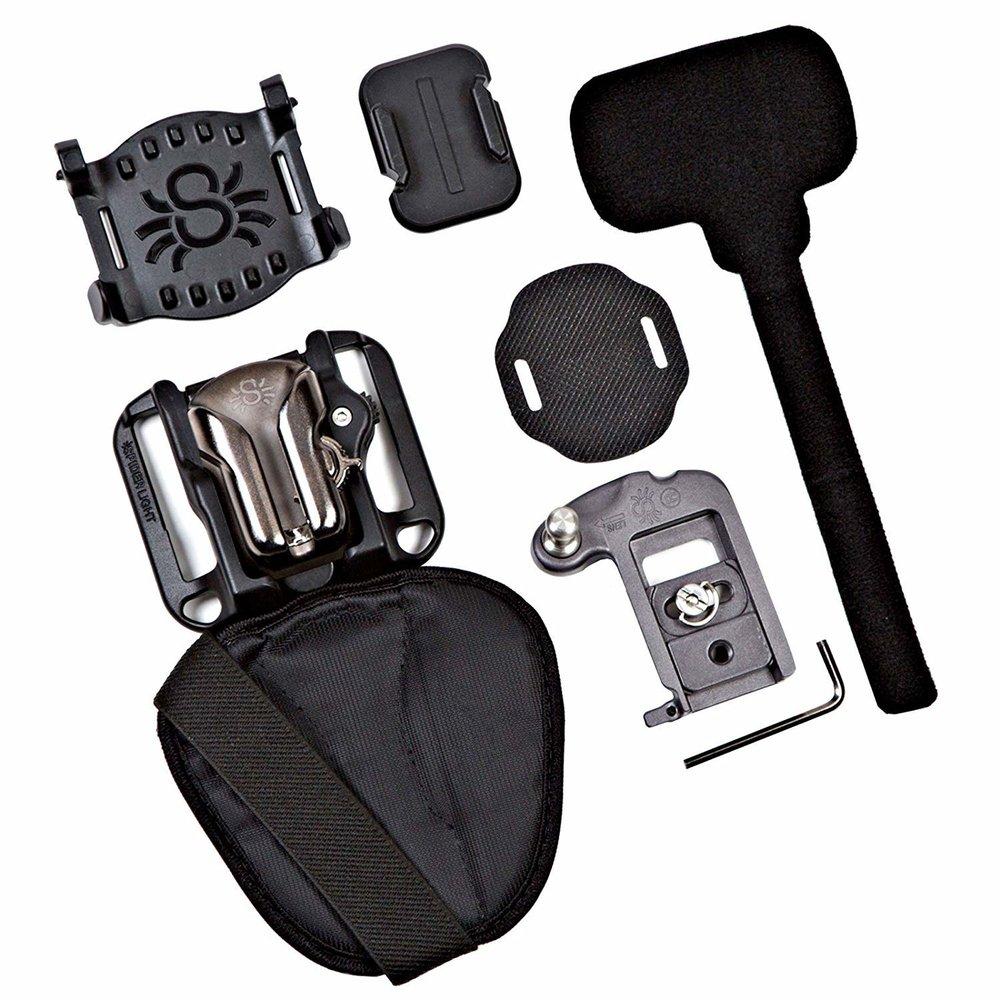 Spider Holster SpiderLight Backpacker Kit
