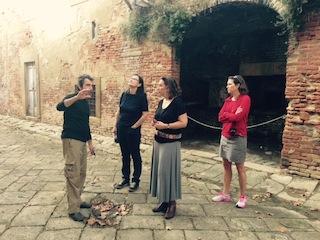 Paolo evokes Volterra's history