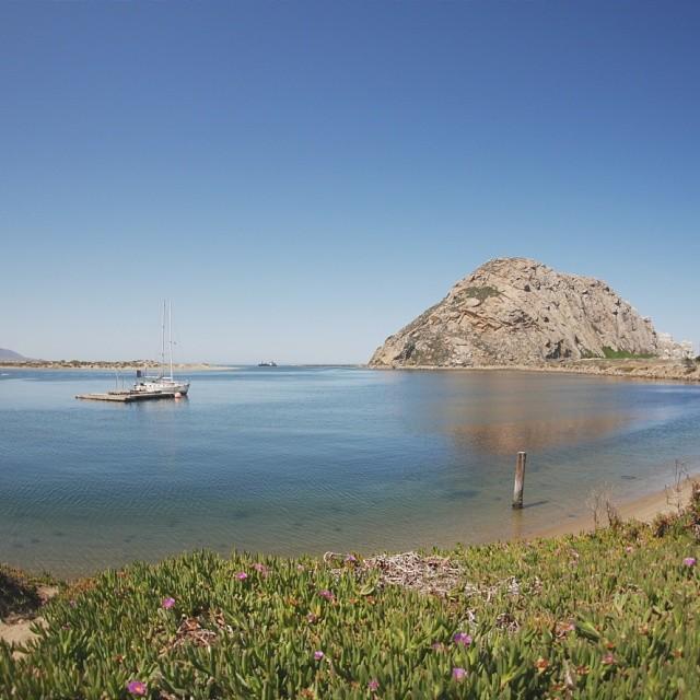 Morro bay #california Beautiful breeze off the water. #lumix #wideangle #ocean #calm #travel #roadtrip