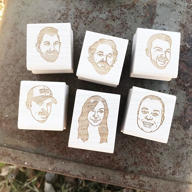 Get stamps for the whole crew, still time to get your order in before Christmas! #funnygifts . . . . . #gifts #rubberstamps #customgifts #customportraits #portraits #stamps #coolgifts #christmasgifts #xmasgifts #crew #friends