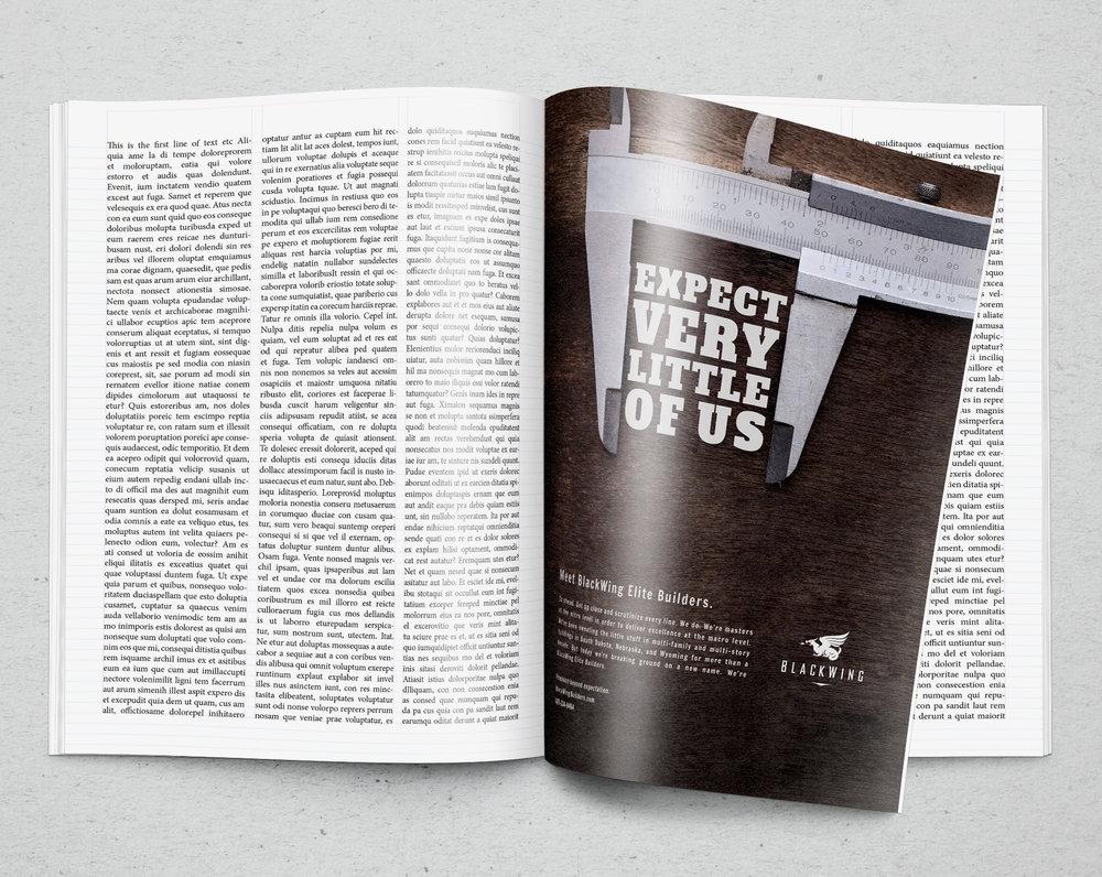 BlackWing Print Ad