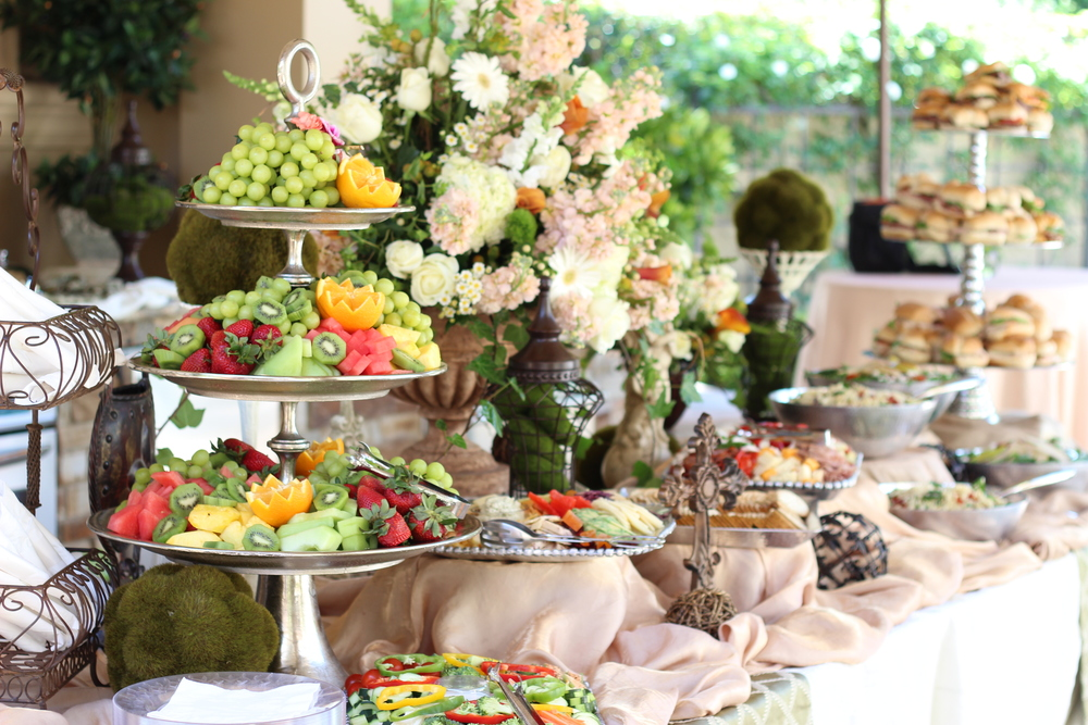 Beautifully Dressed Buffet