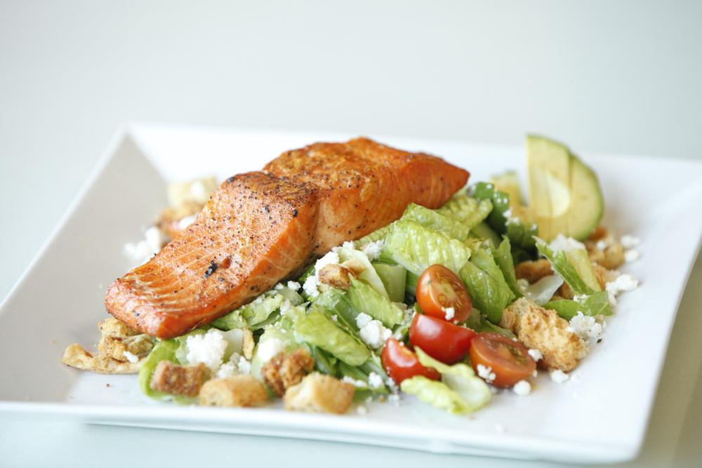 Wild Caught Salmon Salad