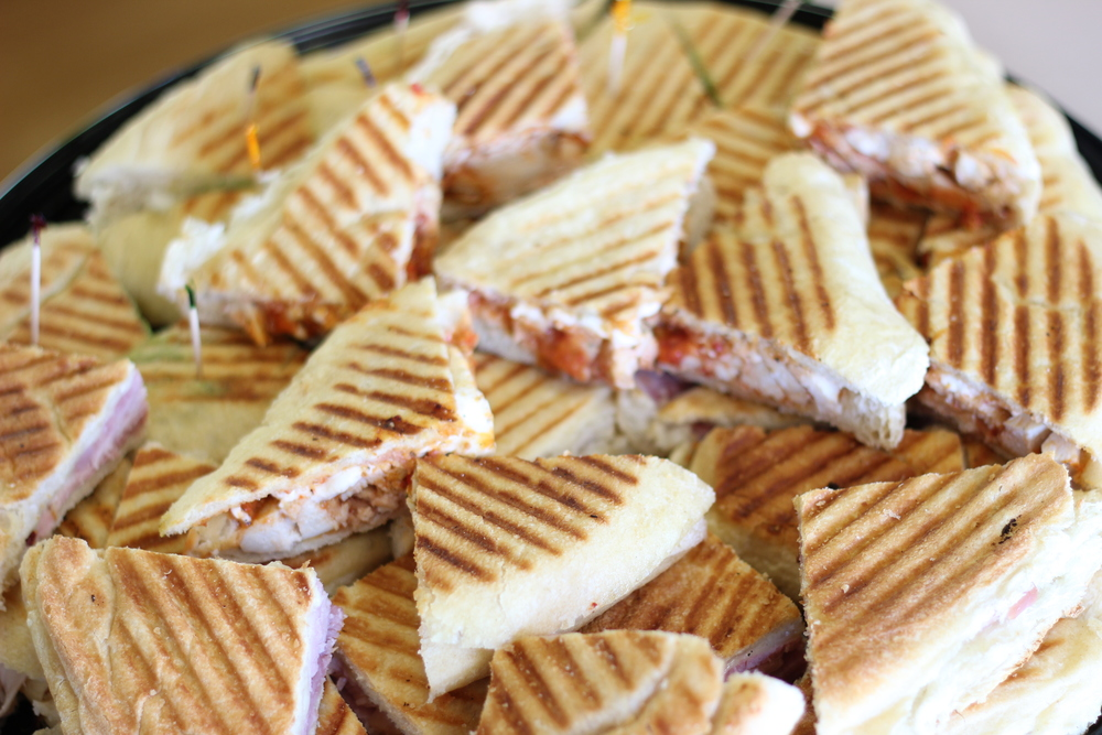Catering To-Go Panini Tray
