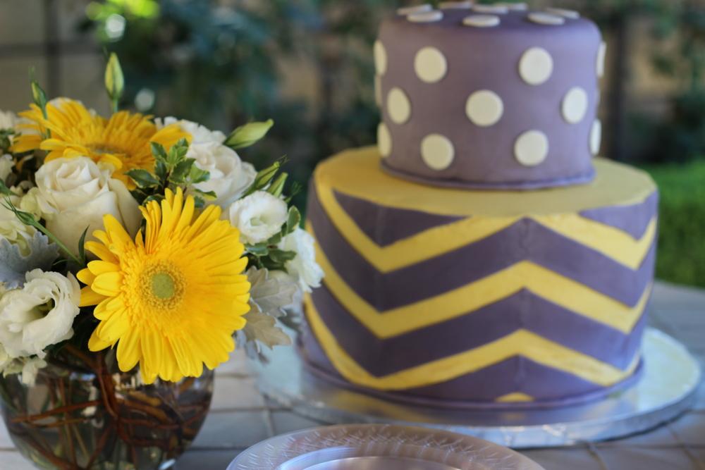 Coordinating Cake