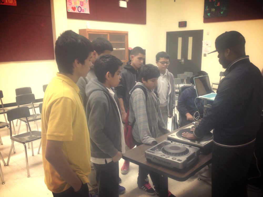 E-Phlat Music visits Anson Jones Middle School San Antonio, Tx (click pic to read more)