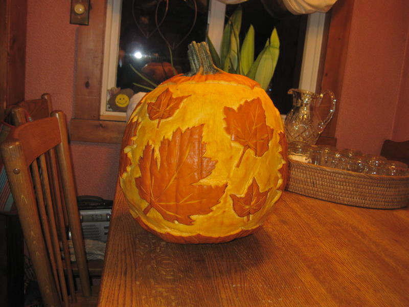 Thanksgiving pumpkin 2