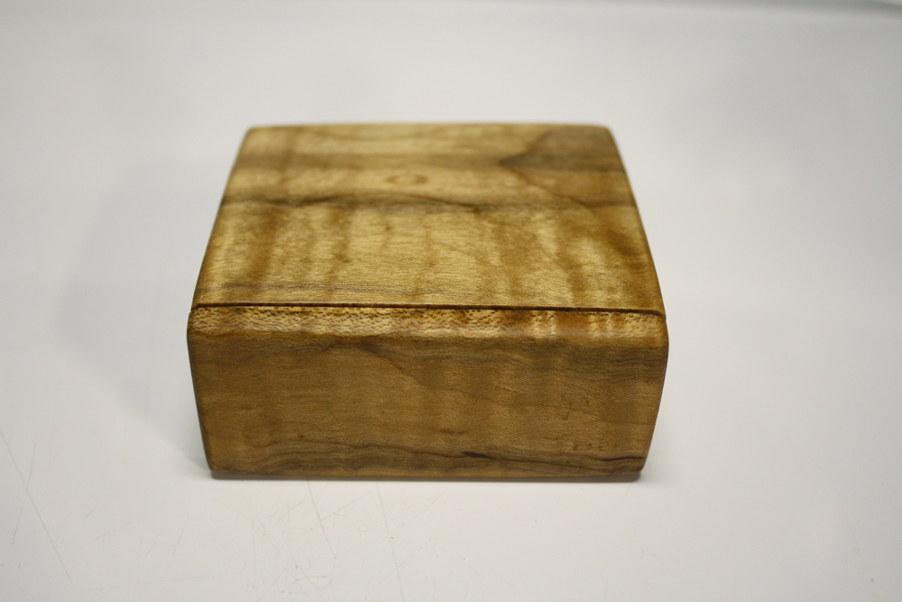 Figured Maple Jewelry Box