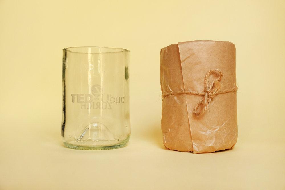 TEDxUbud Glass