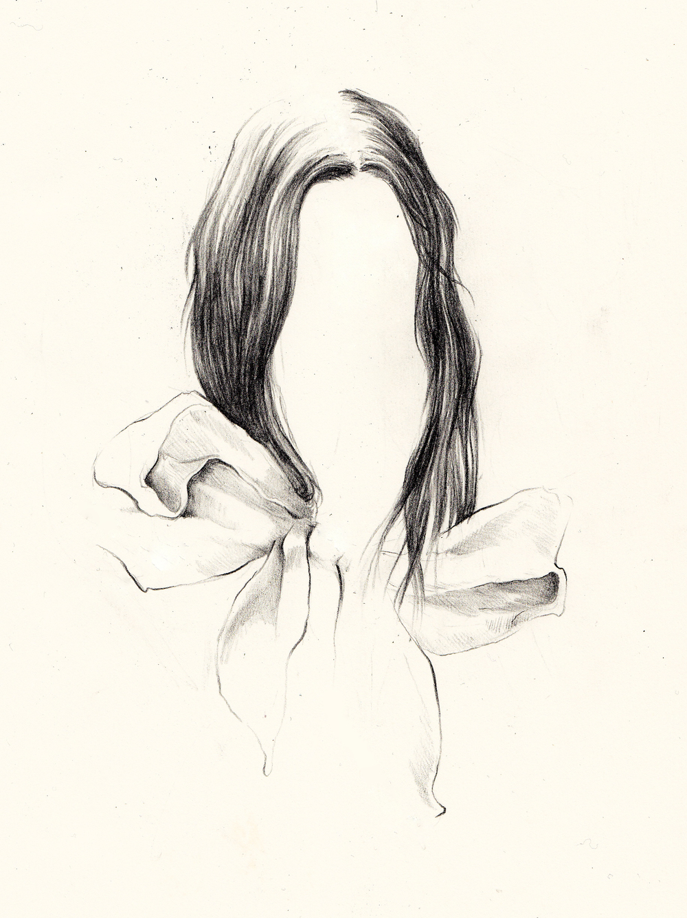Graphite on paper, 2010.