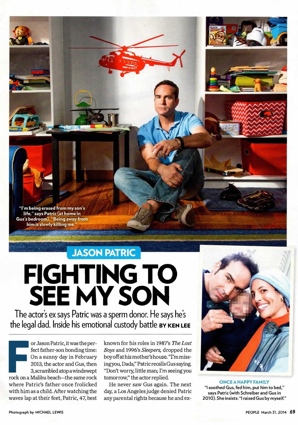 People Magazine- Fighting to See My Son  - Expert featured in People Magazine in March 2014