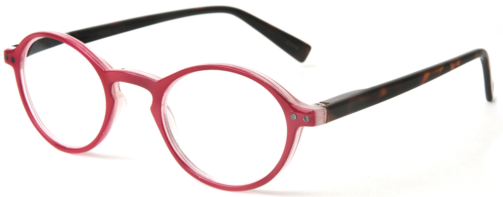 96cdac667390 Favorite Round Reading Glasses in Red — Fun Reading Glasses!