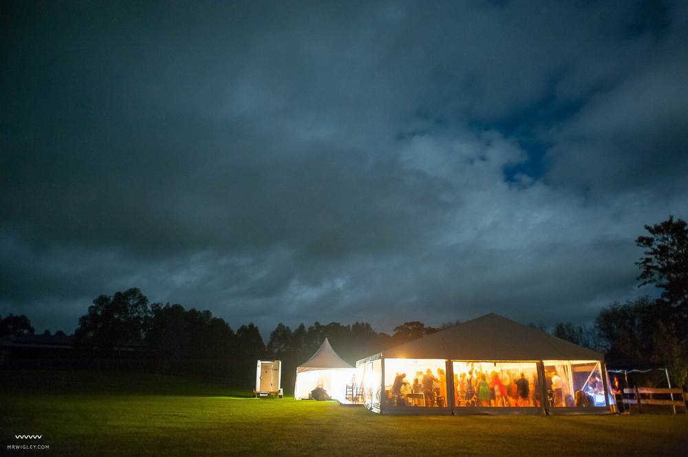 a happening dance floor: the best antidote for a rainy day wedding! photo by Mr Wigley