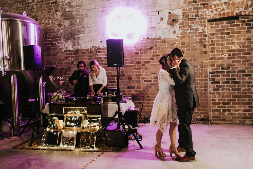 ELIZA & DILLON'S FIRST DANCE - WE LIVE FOR THESE MOMENTS! PHOTO BY WILLOW AND CO