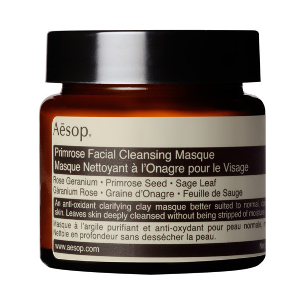 Jasmine Clarine Blog - Sunday Style Beauty Edit - AESOP Primrose Facial Cleansing Masque