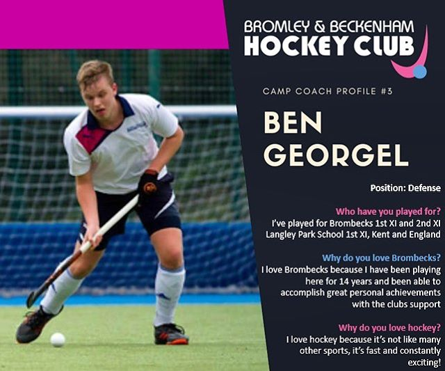 **EASTER HOCKEY CAMP** ~Meet Ben one of our amazing coaches who is running the camp this Easter~  www.brombeckhc.co.uk/camps/  #gbhockey #brombeckhc #hockey #hockeycamp #juniors #halfterm #bromley #beckenham #southeastlondon #london #schoolholidays #schoolholiday #sportscamp #training #skills #practice #alllevelswelcome #getinvolved #gethealthy #thisgirlcan #thisboycan #easter #easterholidays #eastercamp