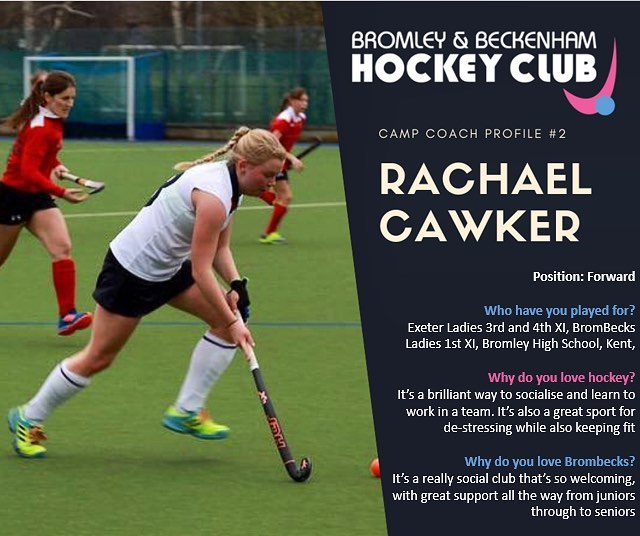 **EASTER HOCKEY CAMP** ~Meet Rachael one of our amazing coaches who is running the camp this Easter~  www.brombeckhc.co.uk/camps/  #gbhockey #brombeckhc #hockey #hockeycamp #juniors #halfterm #bromley #beckenham #southeastlondon #london #schoolholidays #schoolholiday #sportscamp #training #skills #practice #alllevelswelcome #getinvolved #gethealthy #thisgirlcan #thisboycan #easter #easterholidays #eastercamp