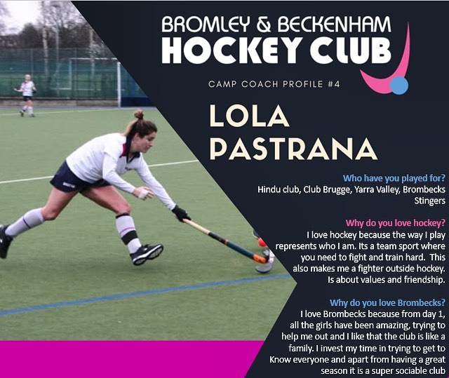 **EASTER HOCKEY CAMP** ~Meet Lola one of our amazing coaches who is running the camp this Easter~  www.brombeckhc.co.uk/camps/  #gbhockey #brombeckhc #hockey #hockeycamp #juniors #halfterm #bromley #beckenham #southeastlondon #london #schoolholidays #schoolholiday #sportscamp #training #skills #practice #alllevelswelcome #getinvolved #gethealthy #thisgirlcan #thisboycan #easter #easterholidays #eastercamp