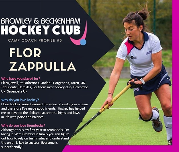 **EASTER HOCKEY CAMP** ~Meet Flor one of our amazing coaches who is running the camp this Easter~  www.brombeckhc.co.uk/camps/  #gbhockey #brombeckhc #hockey #hockeycamp #juniors #halfterm #bromley #beckenham #southeastlondon #london #schoolholidays #schoolholiday #sportscamp #training #skills #practice #alllevelswelcome #getinvolved #gethealthy #thisgirlcan #thisboycan #easter #easterholidays #eastercamp
