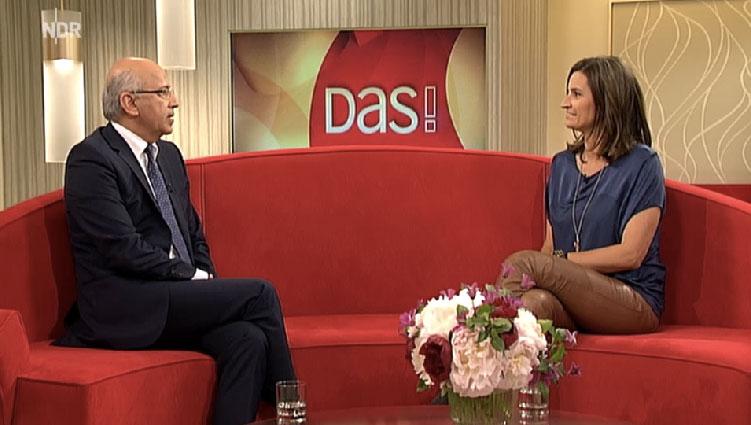 Dr. Mahdi Rezai im Gespräch mit Ilka Schneider.