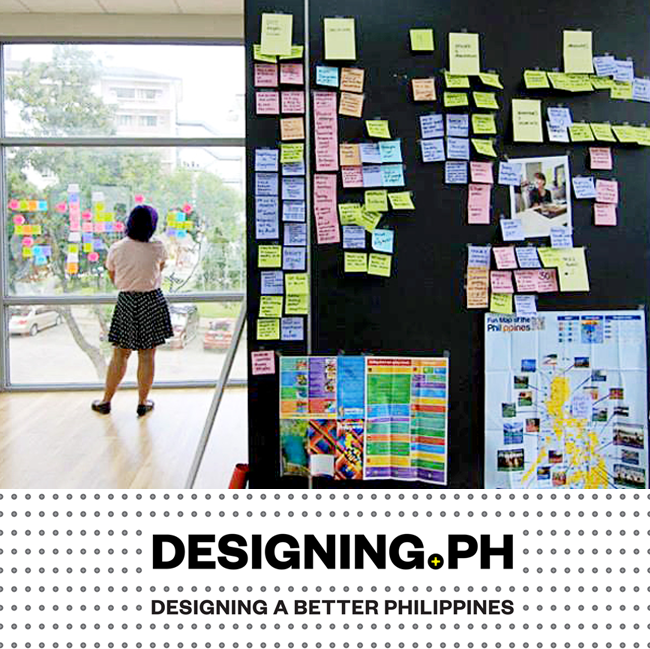 DESIGNING.PH Organized the first design thinking workshop in the Philippines, with international facilitators from IDEO, Tandemic and Ong&Ong