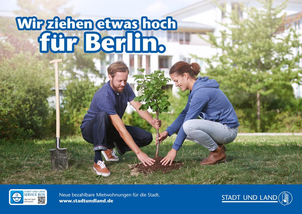 Wir ziehen etwas hoch für Berlin -  STADT UND LAND © NILS BORNEMANN.jpg