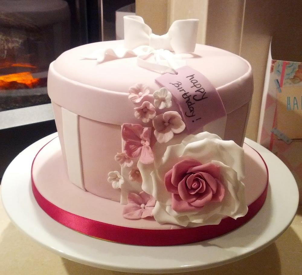 Jewelry Box Cake Photo