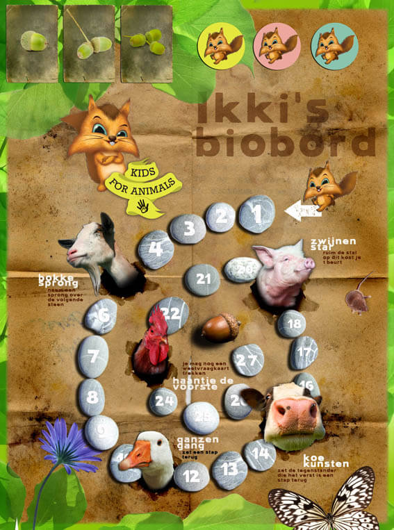 Bordspel - Kids for Animals