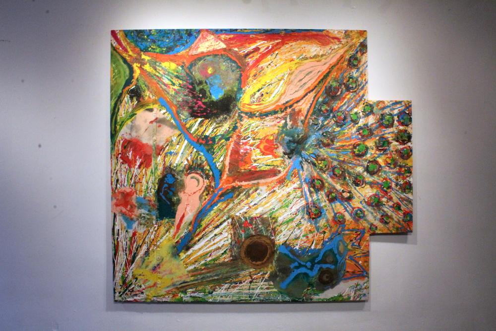 Artwork by Harry van Gestel  215 x 238 cm