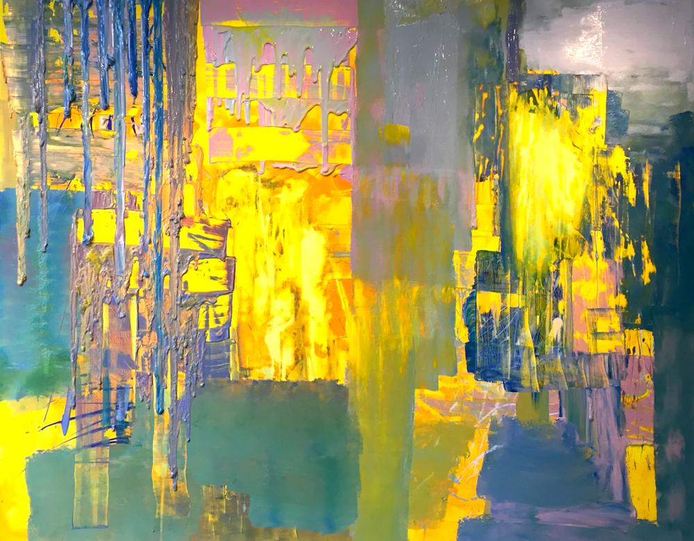 Artwork by Harry van Gestel (2015)  200 x 250 cm