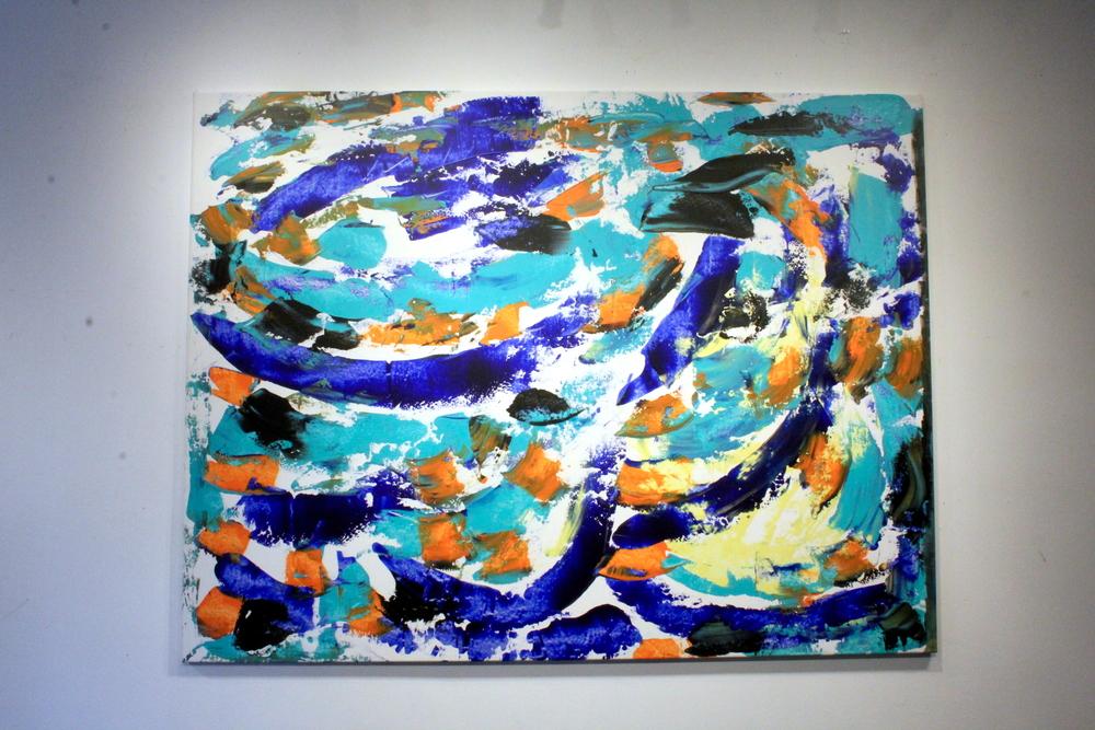 Artwork by Harry van Gestel (2015)  210 x 160 cm