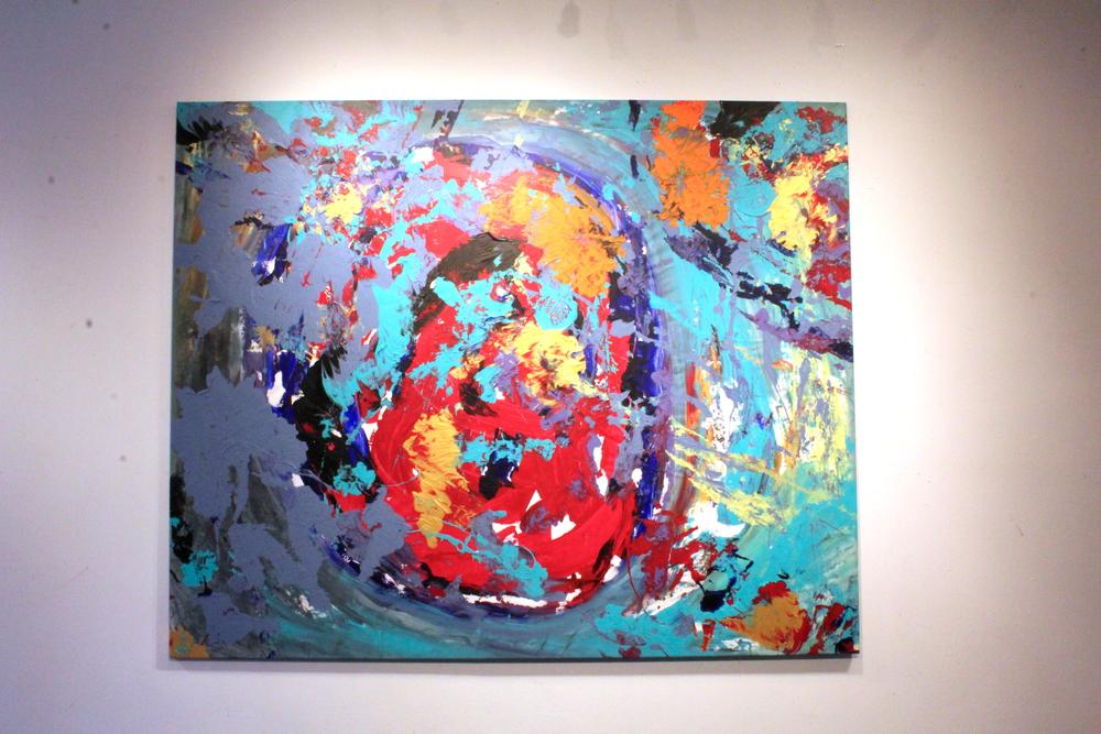 Artwork by Harry van Gestel (2015)  208 x 170 cm